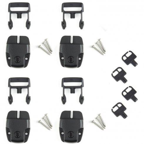 Sure-Lock Spa Cover Locks, Set of 4 | SpaDepot com