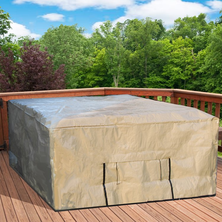 "Image result for Protecta Spa Outdoor Protective Spa Cover - 92""x92"