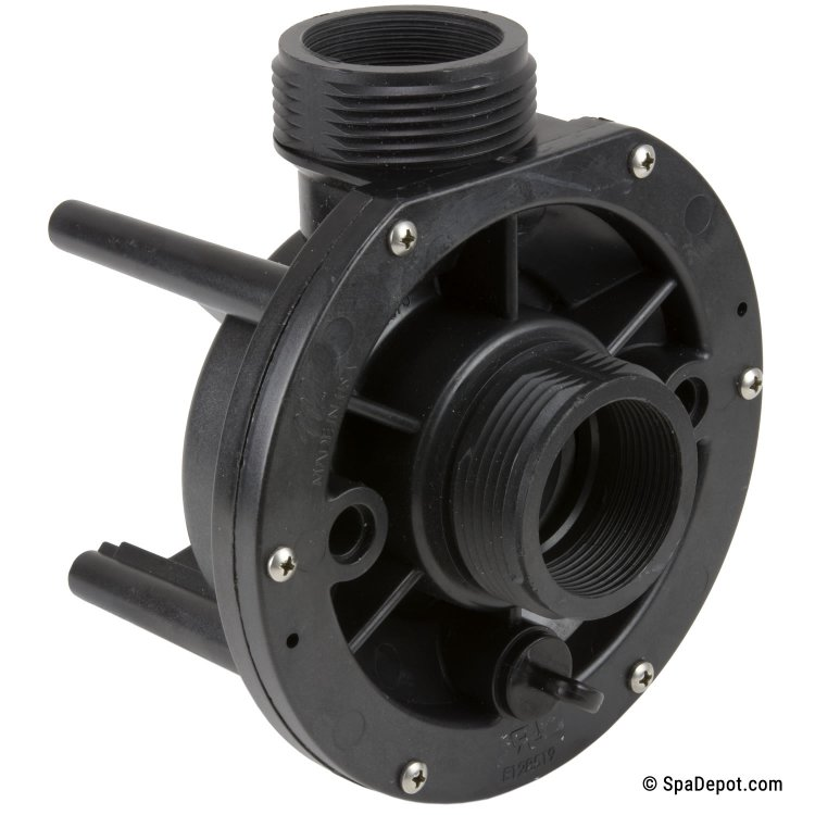 2 hp waterway center discharge wet end 1 5 in out 48fr for Pool pump motor hot not working