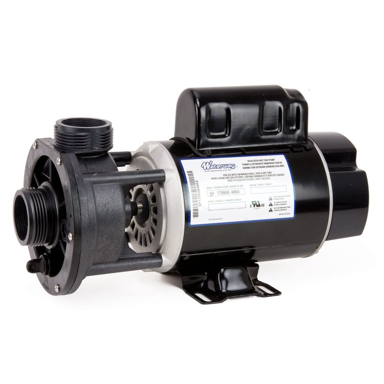 3 4 hp waterway hot tub pump and motor 1 5 in out for Hot tub motor replacement