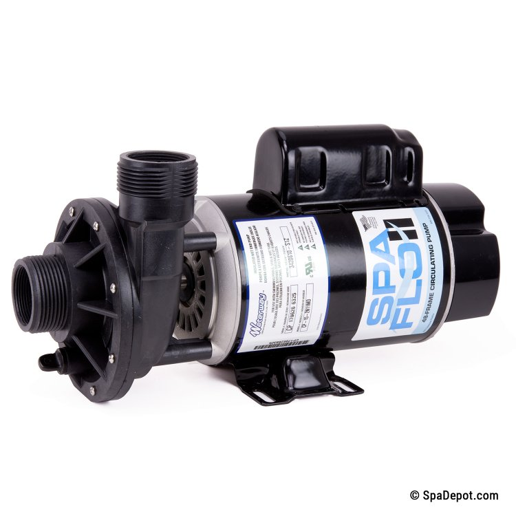 1 5hp waterway hot tub pump motor 1 5 in out 110 for Home depot pool pump motor