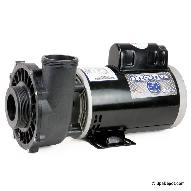 bx4108 s25 1500 A 750x750 3hp waterway hot tub pump & motor 2 5\