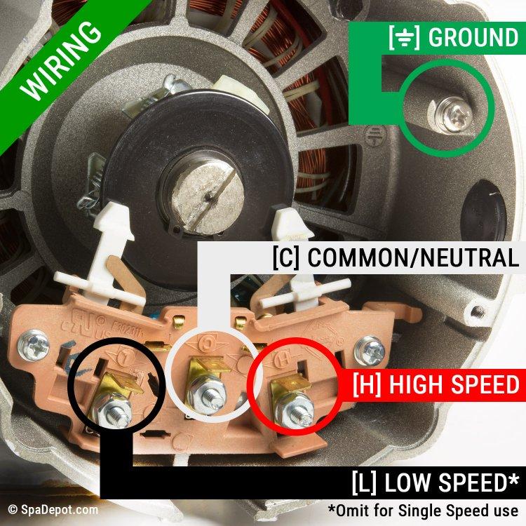2 Hp Hydromaster Hot Tub Pump  U0026 Motor