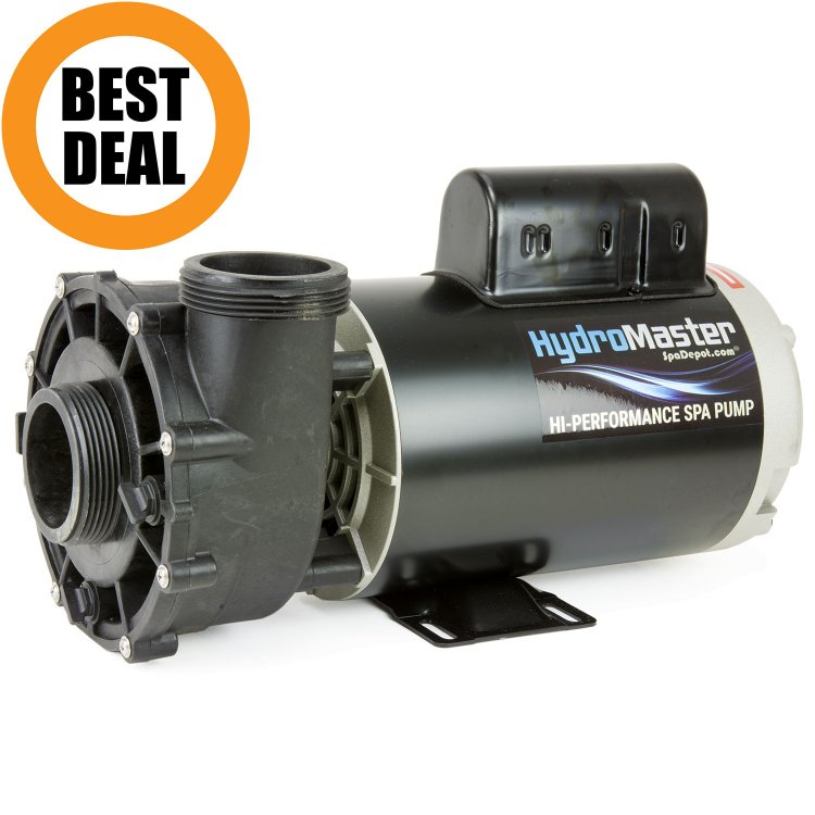 3 hp hydromaster hot tub pump motor 220 240v for Hot tub motor replacement