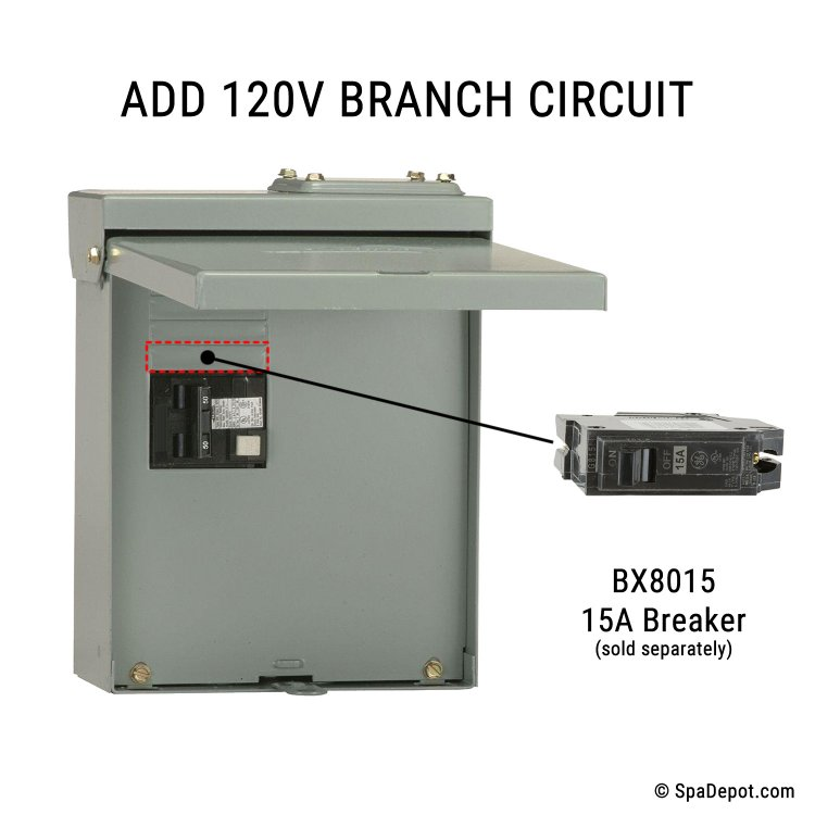 Circuit Breaker Symbol Additionally How To Wire 50 Hot Tub Breaker