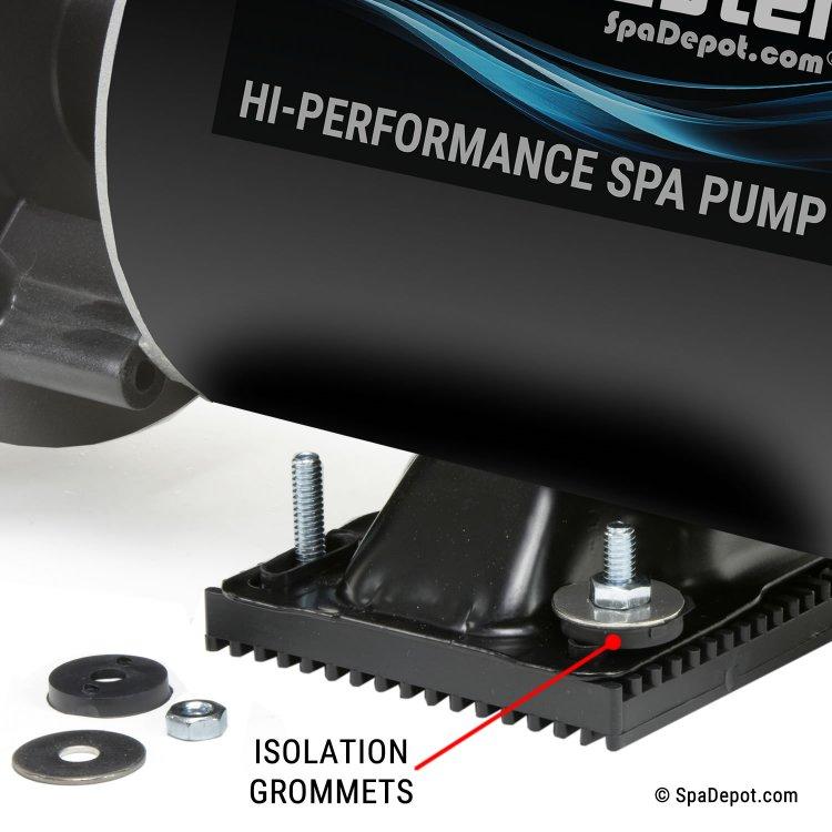 Silencer Anti Vibration Spa Pump Motor Base Spadepot Com