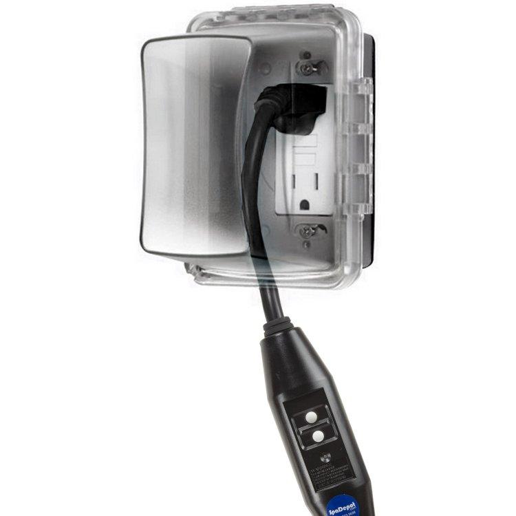 Spa Gfci Power Cord In Line 120v 15a Spadepot Com