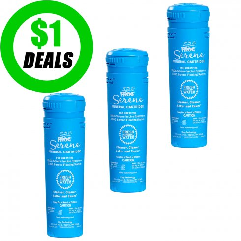 Spa Frog Mineral Cartridge Year Supply 3 Pack Spadepot Com