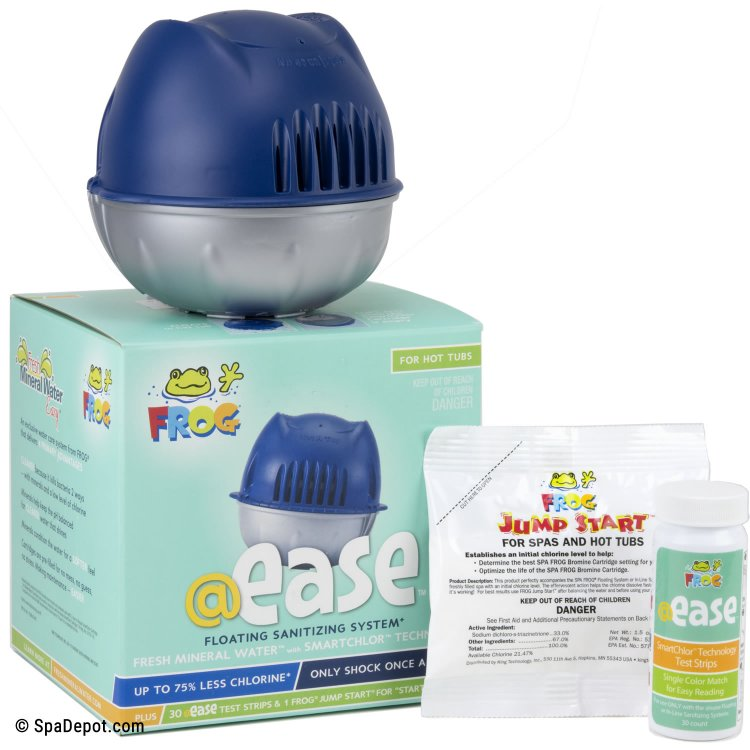 Spa Frog Ease Floating Sanitizer System Spadepot Com