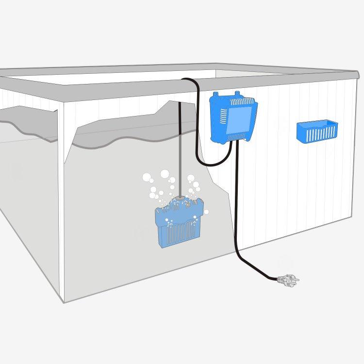Saltron Mini Hot Tub Salt Water Sanitizing System   SpaDepot.com