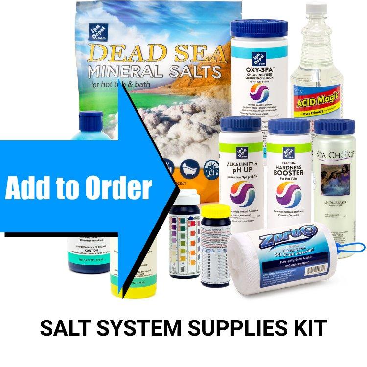 Saltron Mini Spa Salt System Chlorine Generator Spadepot Com