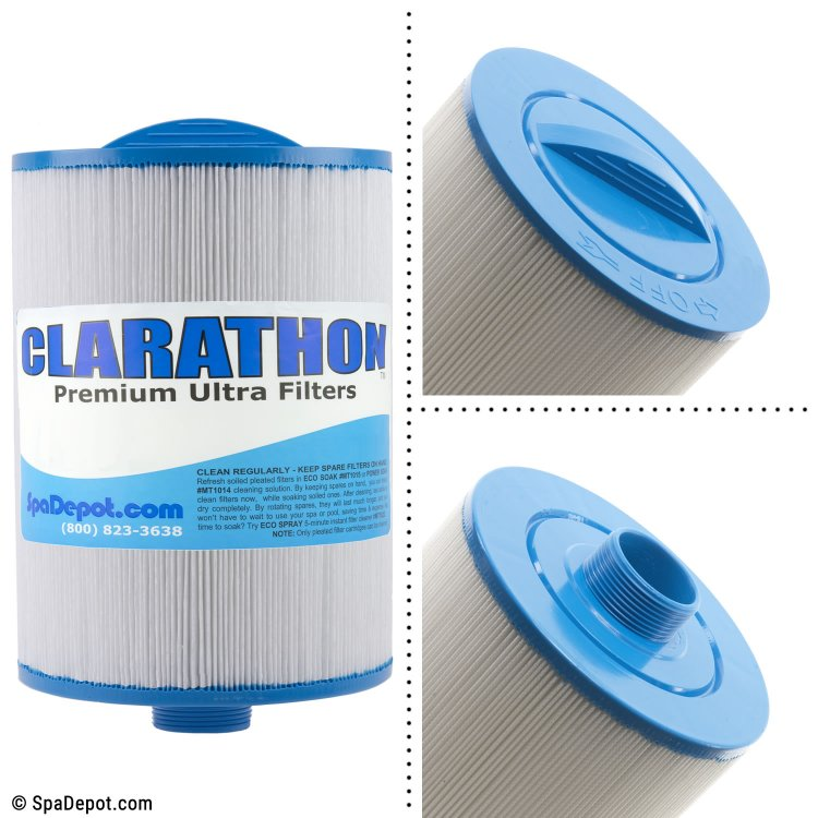 Clarathon Threaded Hot Tub Filter Cartridge FC0314 | SpaDepot.com