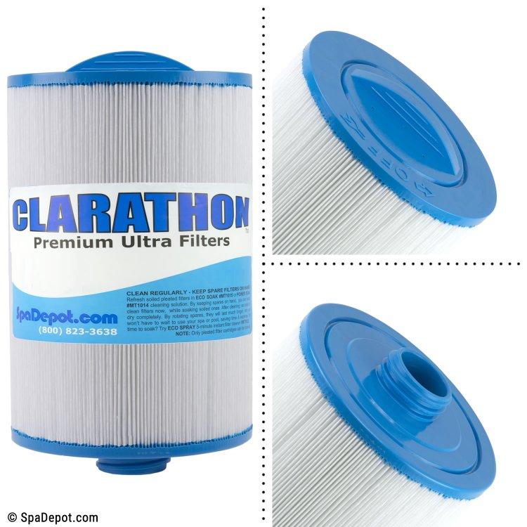 Clarathon Threaded Hot Tub Filter Cartridge FC0475 | SpaDepot.com