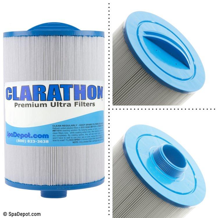 Clarathon Threaded Hot Tub Filter Cartridge FC0515 | SpaDepot.com