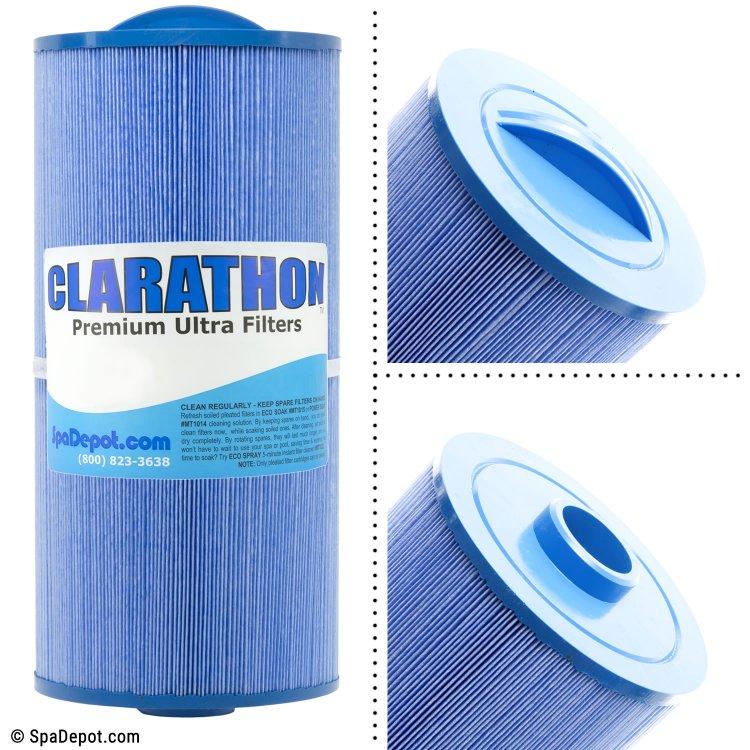 Clarathon Antimicrobial Hot Tub Filter Cartridge FC3085M | SpaDepot.com