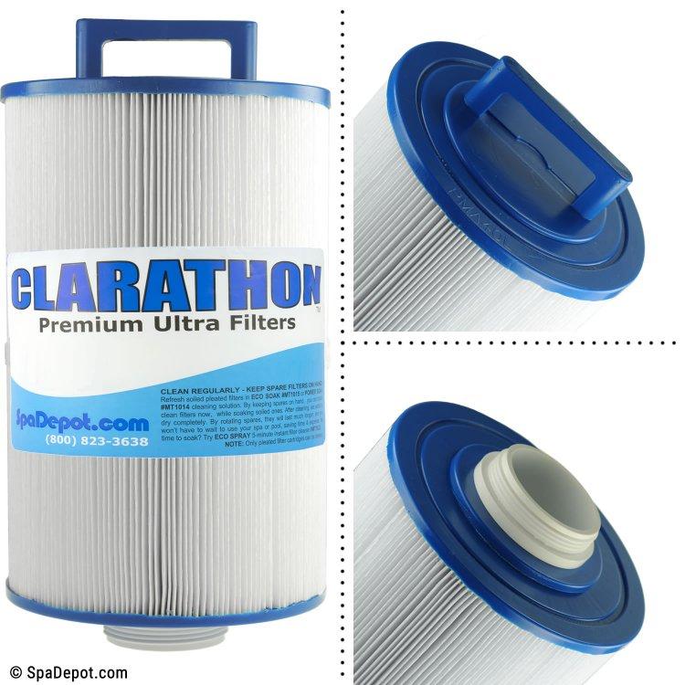 Clarathon Threaded Hot Tub Filter Cartridge FC9945 | SpaDepot.com