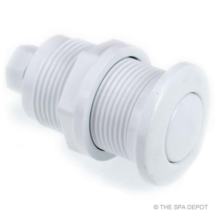hot tub air button white