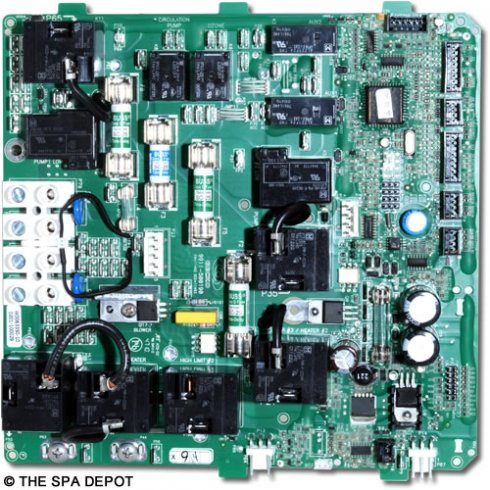 gecko� hot tub circuit board for hydroquip easypak ep3000 spa Hot Tub Hook Up Diagram gecko� circuit board for hydroquip easypak ep3000 controls 33 0025a k