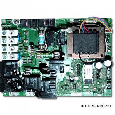 Gecko® spa Circuit Board for HydroQuip/EasyPak EP2000 Controls - 33-0024E-K  | SpaDepot.com | Gecko Circuit Board Wiring Diagram |  | Spa Depot