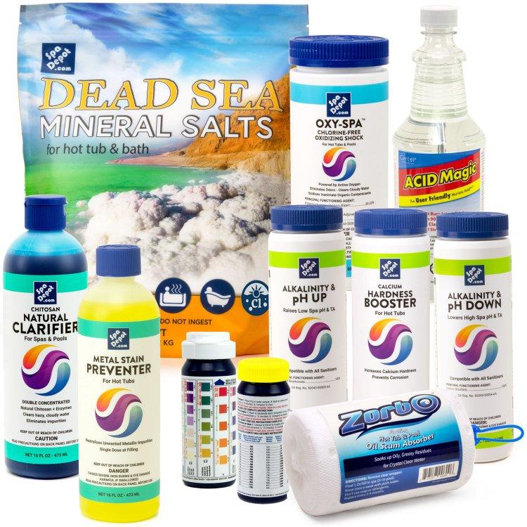 Spa Salt System Pro Supplies Kit Spadepot Com