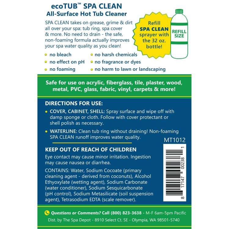 CleanAll Spa Surface Cleaner | SpaDepot.com