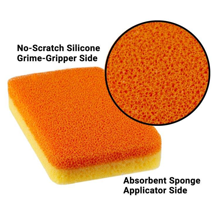 Yellow Cleaning Sponge...