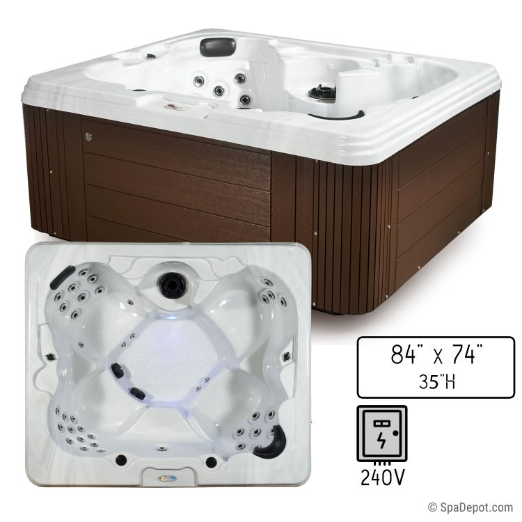 Belize Classic C-400 5 Person Hot Tub Spa | SpaDepot.com