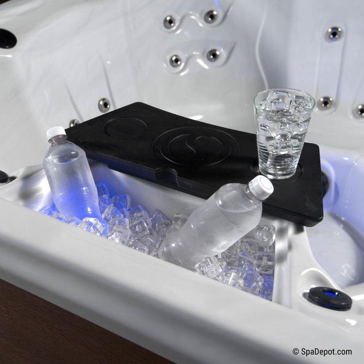 Belize UltraRay UVC-500L Lounger 5 Person Hot Tub Spa | SpaDepot.com