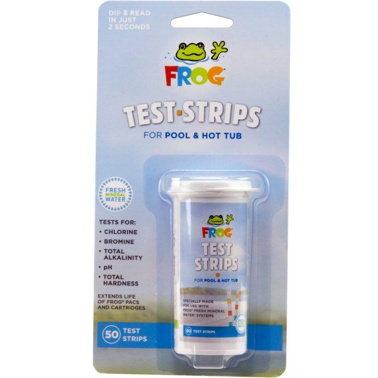 Spa Test Strips for Frog Cartridge System - 50 Ct. | SpaDepot.com