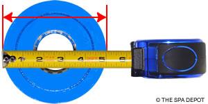 How To Measure Diameter >> How To Measure Hot Tub Pool Filter Cartridges Spadepot Com