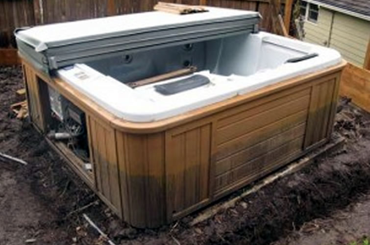 beachcomber hot tub electrical hook up